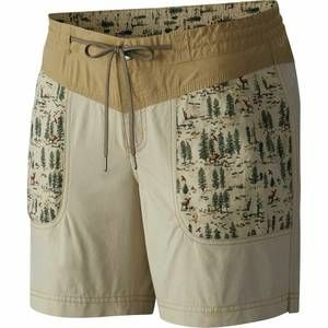 Columbia Shorts Size 12 Down The Path Fossil